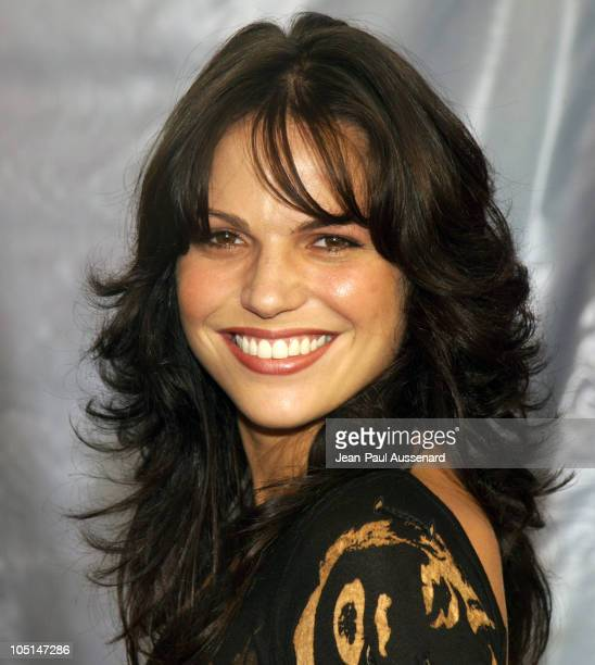 Lana Parrilla during NBC All Star Casino Night 2003 TCA Press Tour Arrivals at Renaissance Hotel Grand Ballroom in Hollywood California United States