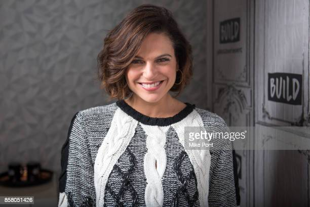 Lana Parrilla visits Build Studio to discuss 'Once Upon A Time' at Build Studio on October 5 2017 in New York City
