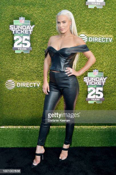 Lana Perry attends DIRECTV CELEBRATES 25th Season of NFL SUNDAY TICKET at Nomad Hotel Los Angeles on July 17 2018 in Los Angeles California