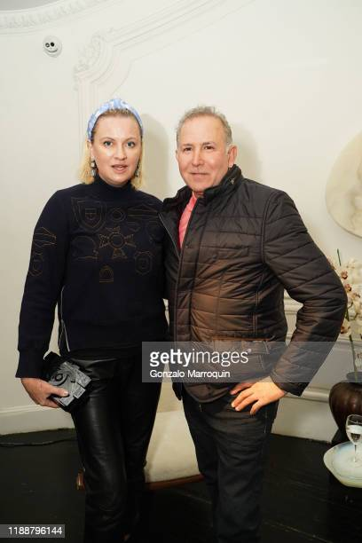 Lana Smith and Dionisio Fontana during the Celebration Of Achille Salvagni at Maison Gerard at the Elizabeth Collective on November 19 2019 in New...