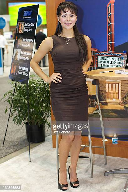 Lana Tailor attends the Cable Show 2011 at McCormick Place on June 14 2011 in Chicago Illinois