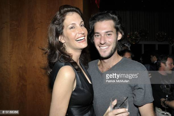 Lana Trevisan Michael Blum Attend David Lachapelles American Jesus After Party At The Top Of The