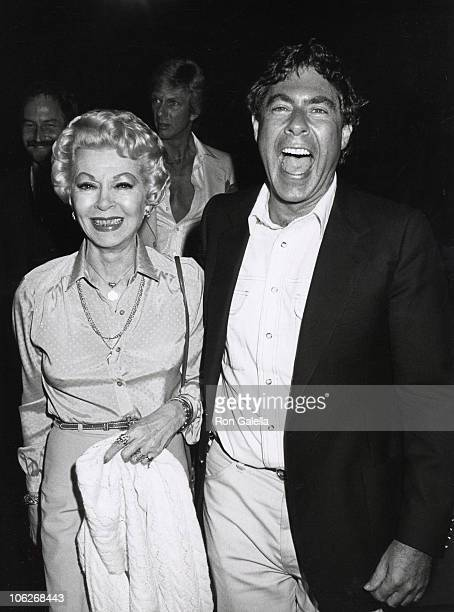 Lana Turner and Norman Kean during Oh Calcutta Party July 11 1980 at Edison Theater in New York City New York United States