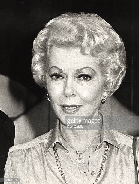 Lana Turner during Oh Calcutta Party July 11 1980 at Edison Theater in New York City New York United States