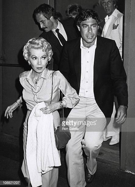 Lana Turner Norman Kean and Eric Root during Oh Calcutta Party July 11 1980 at Edison Theater in New York City New York United States