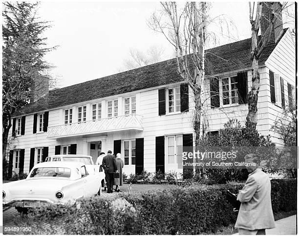 Lana Turner's home where Cheryl Crane stabbed Johnny Stompanato
