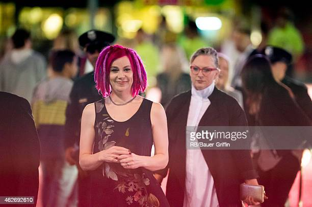 Lana Wachowski is seen on February 02 2015 in Los Angeles California