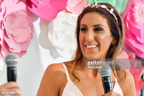 Lana Wilkinson at the Spring Racing Carnival Launch at Greenfields on September 01 2017 in Albert Park Australia