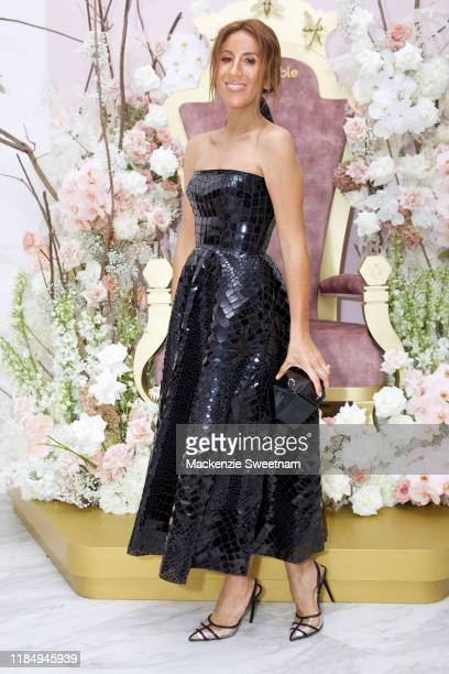 Lana Wilkinson attends the Bumble marquee during Derby Day at Flemington Racecourse on November 02, 2019 in Melbourne, Australia.