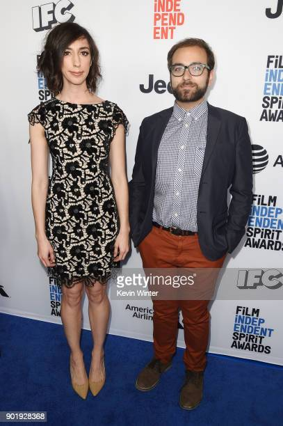 Lana Wilson and David Osit attend the Film Independent Spirit Awards Nominee Brunch at BOA Steakhouse on January 6 2018 in West Hollywood California