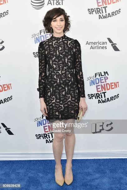 Lana Wilson attends the 2018 Film Independent Spirit Awards Arrivals on March 3 2018 in Santa Monica California