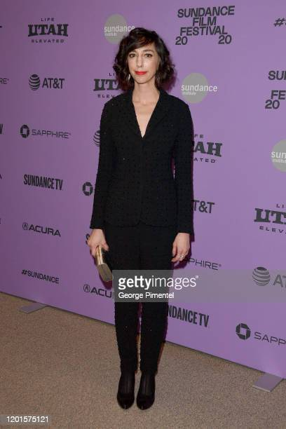 Lana Wilson attends the 2020 Sundance Film Festival Taylor Swift Miss Americana Premiere at Eccles Center Theatre on January 23 2020 in Park City Utah