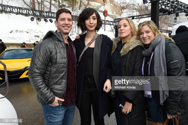 Lana Wilson Caitrin Rogers and Christine O'Malley attend the IMDb Studio at Acura Festival Village at Sundance Film Festival on January 24 2020 in...