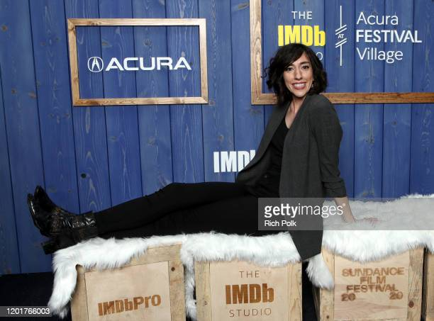 Lana Wilson of 'Miss Americana' attends the IMDb Studio at Acura Festival Village on location at the 2020 Sundance Film Festival – Day 1 on January...