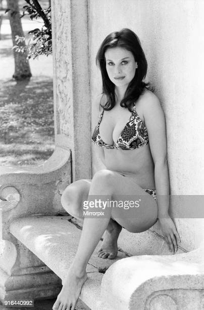 Lana Wood american actress and younger sister of Natalie Wood photocall to announce she will be playing the role of Plenty O'Toole in the James Bond...