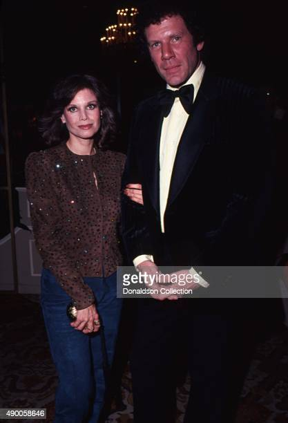 Lana Wood and Alan Feinstein attend the Director's Awards in 1980 in Los Angeles California