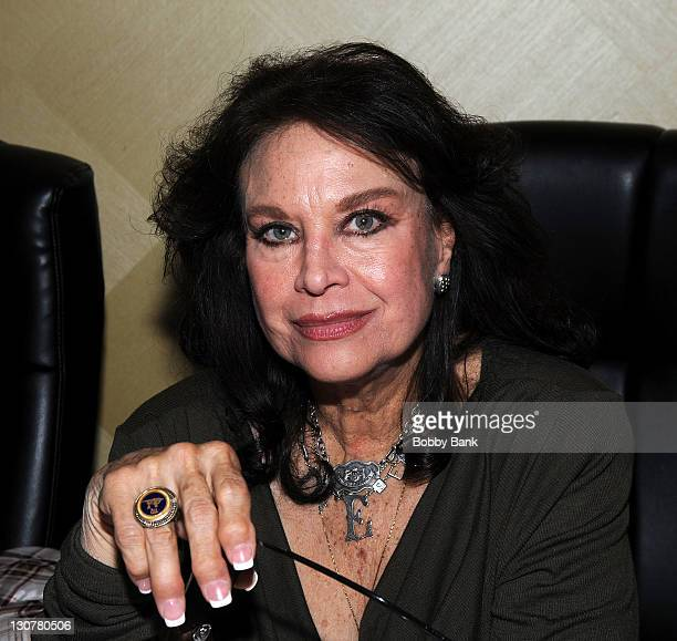 Lana Wood attends the 2011 Chiller Theatre Expo at the Hilton Parsippany on October 29 2011 in Parsippany New Jersey