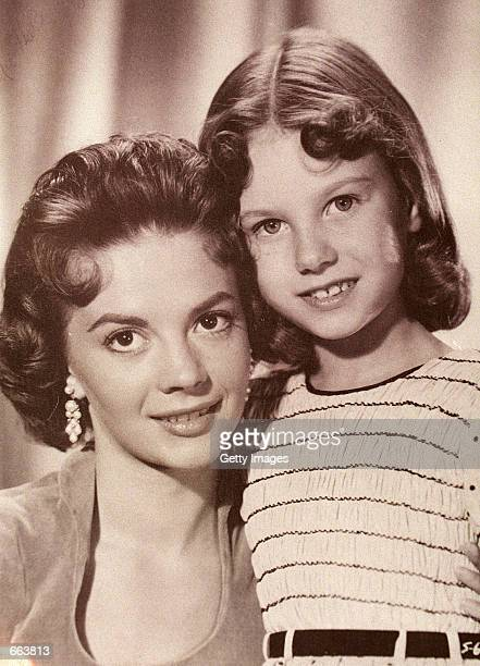 """Lana Wood, right, pictured here with her sister, late actress Natalie Wood when Lana played Natalie as a young girl in the film """"Searches."""""""