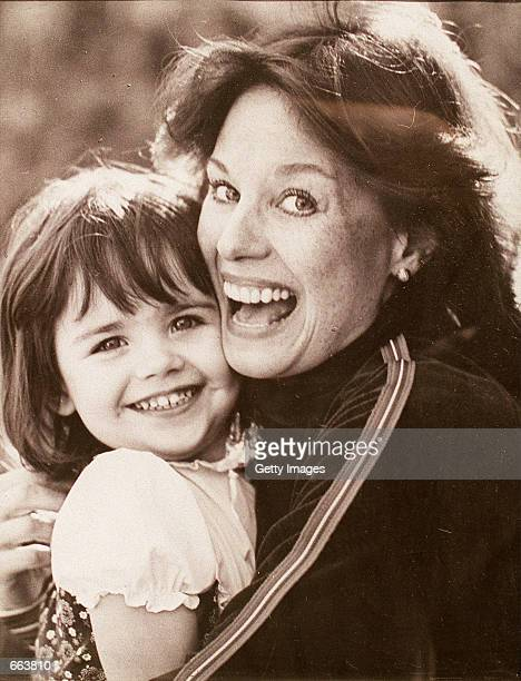 Lana Wood, the sister of Natalie Wood holds her daughter, Evan Taylor Maldonado at 6-months-old. Evan is currently undergoing chemotherapy. Maldonado...