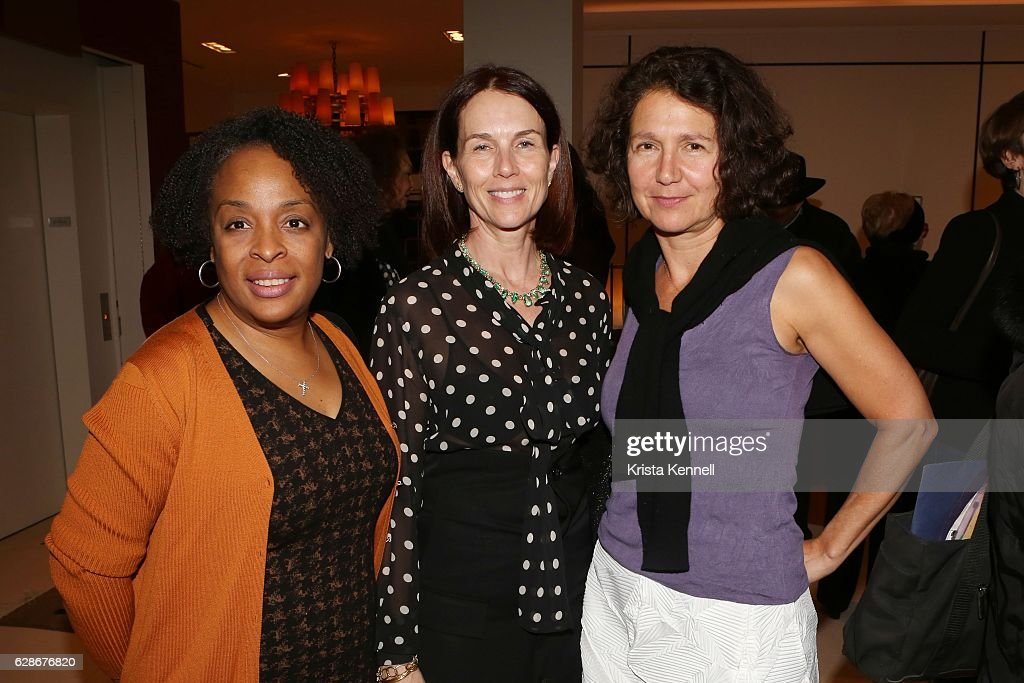 Lana Woods, Temple St  Clair and Celia Imrey attend Temple