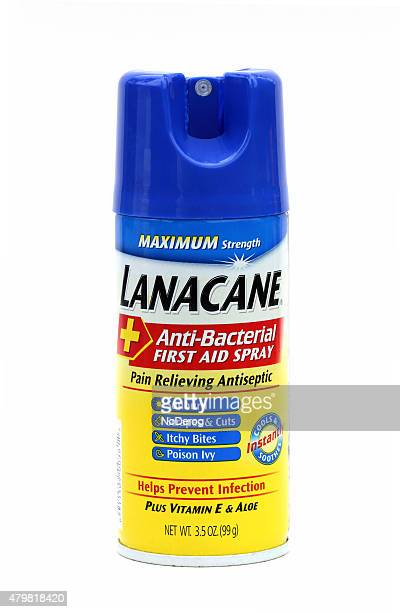 Lanacane Antibacterial first aid spray