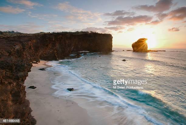 Lanai Sunset Resort Beach