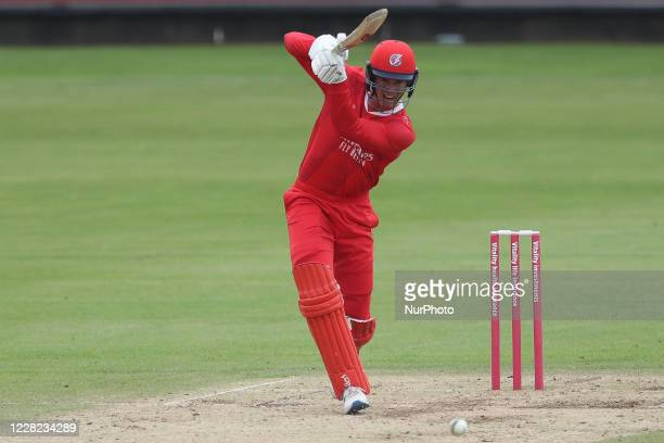 Lancashire's Keaton Jennings during the Vitality Blast T20 match between Durham County Cricket Club and Lancashire at Emirates Riverside, Chester le...