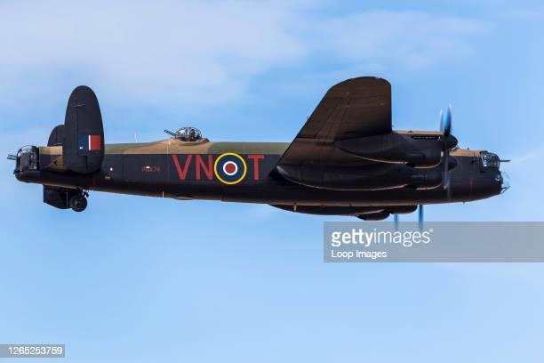 Lancaster bomber from the Battle of Britain Memorial Flight.