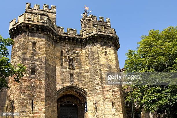 Lancaster Castle is an ancient castle a Crown Court and a Category C men's prison located in Lancaster Lancashire England