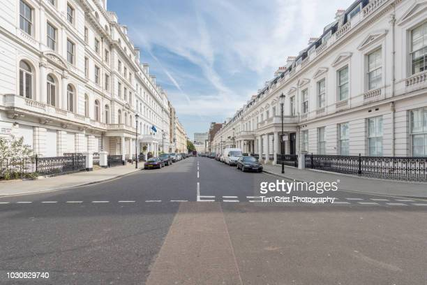 lancaster gate, bayswater, london, w2 - lancaster gate stock pictures, royalty-free photos & images