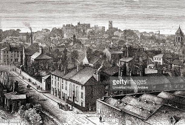 Lancaster Lancashire England In The Late 19Th Century From Our Own Country Published 1898