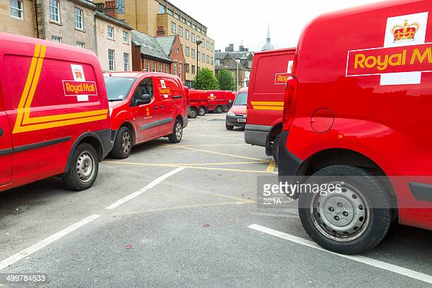 78a6baab656894 Lancaster  parked Royal Mail vans