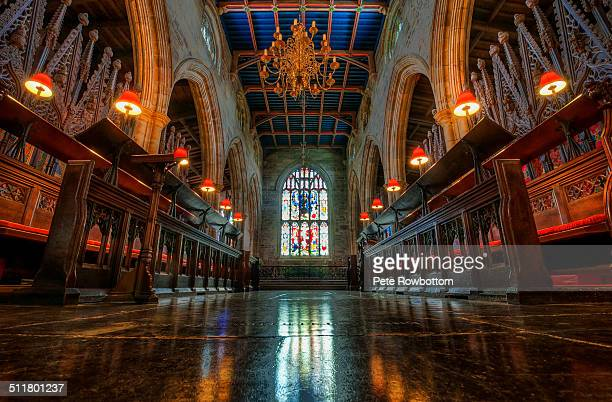 Lancaster priory lighting