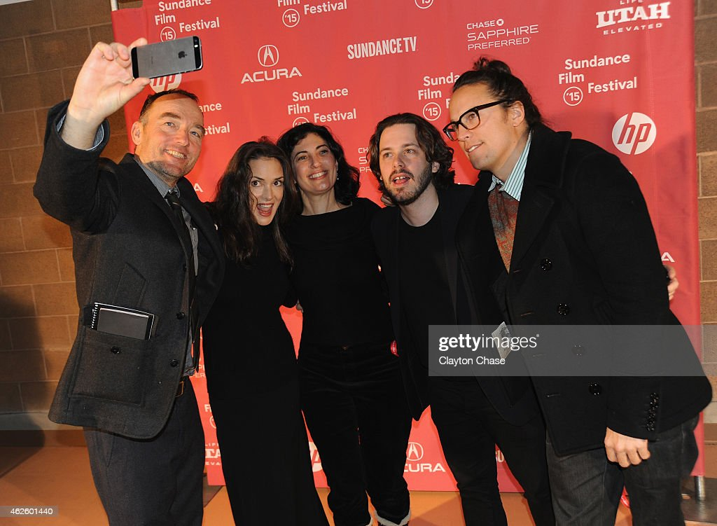 Lance Acord, Winona Ryder, Sarah Flack, Edgar Wright and Cary Fukunaga attend the Awards Night Ceremony during the 2015 Sundance Film Festival at the Basin Recreation Field House on January 31, 2015 in Park City, Utah.