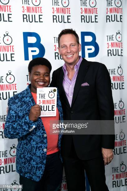 Lance Alexander and Brant Pinvidic attend red carpet event featuring business influencers celebrities and leading network executives gather to...