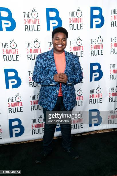 Lance Alexander attends red carpet event featuring business influencers celebrities and leading network executives gather to celebrate Brant...