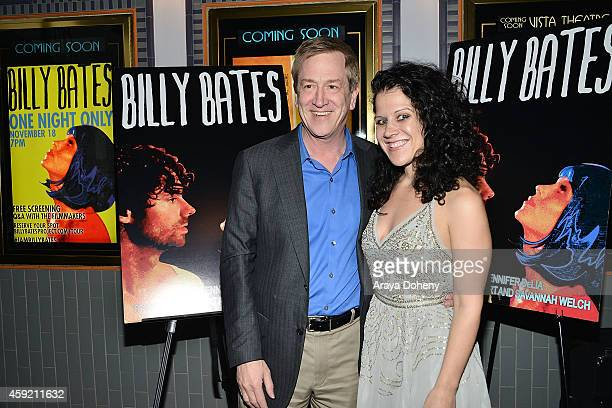 Lance Alspaugh and Jennifer DeLia attend the BILLY BATES LA Premiere Directed By Jennifer DeLia Starring James Wirt And Savannah Welchl Produced By...