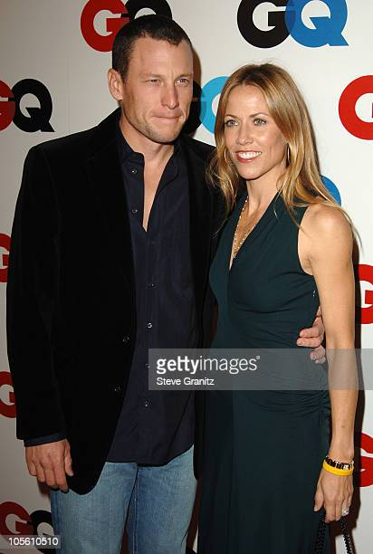 Lance Armstrong and Sheryl Crow during GQ Magazine Celebrates the 2005 Men of the Year - Arrivals at Mr Chow in Beverly Hills, California, United...