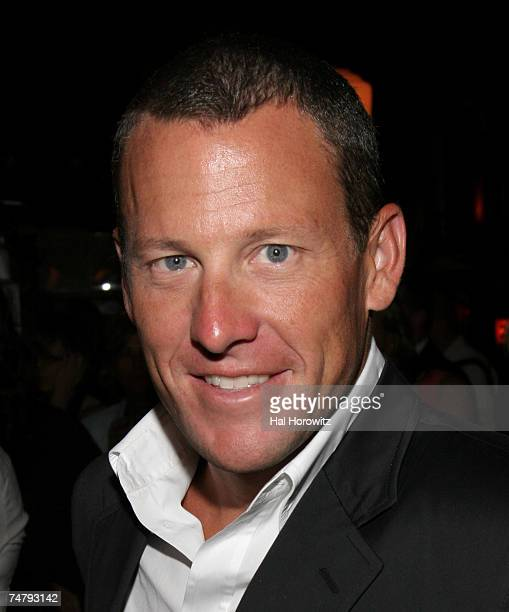 Lance Armstrong at the Elaines in New York City New York