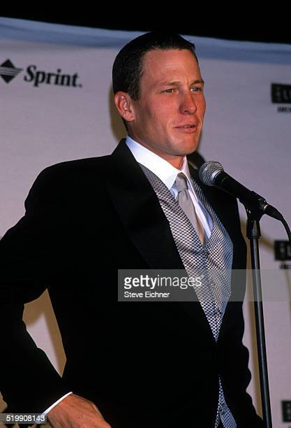Lance Armstrong attends GQ Man of the Year awards New York October 21 1999