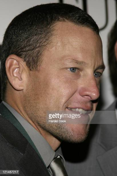 Lance Armstrong during 21st Annual Great Sports Legends Dinner at The Waldorf Astoria in New York City, New York, United States.