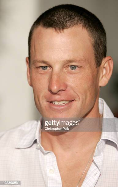 Lance Armstrong during 'Meet the Fockers' Los Angeles Premiere at Universal Amphitheatre in Universal City California United States
