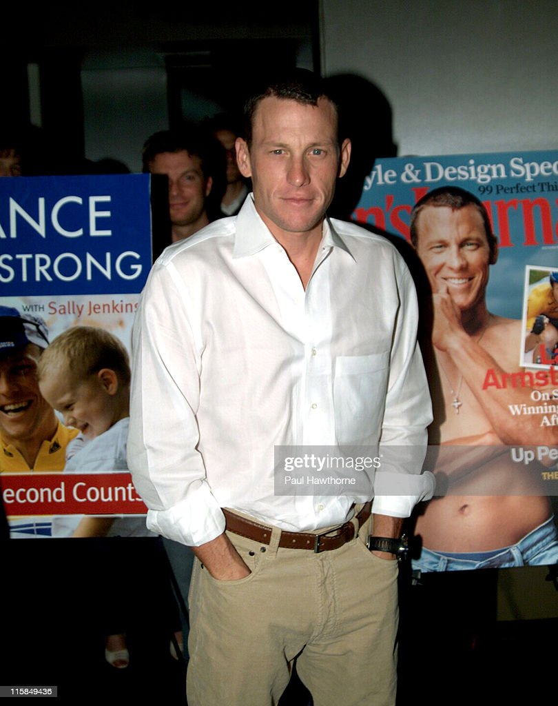 Men's Journal and Lance Armstrong Celebrate the Publication of Armstrong's New