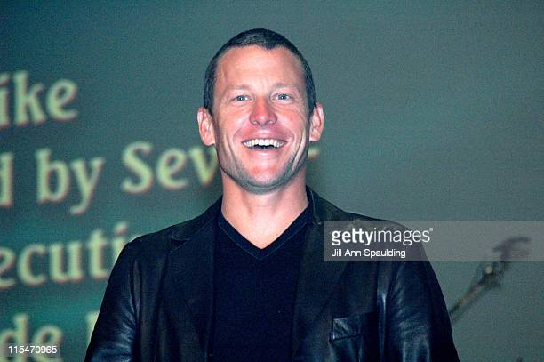 Lance Armstrong during The Bash For Augie's Quest Lou Gehrig's Disease Fundraiser March 22 2006 at Las Vegas Hilton Hotel Casino in Las Vegas Nevada...