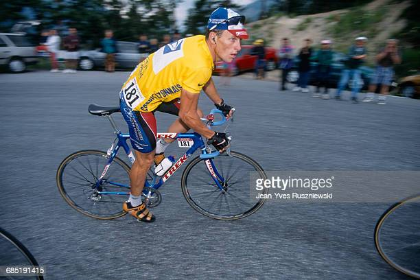 Lance Armstrong from USA during stage 9 of the 1999 Tour de France