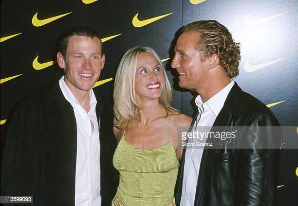 Lance Armstrong Kristin Richard and Matthew McConaughey