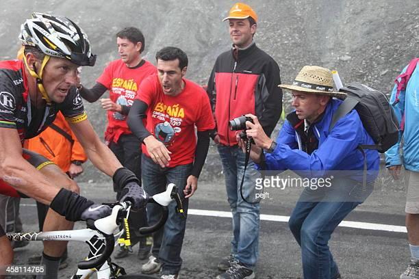 Lance Armstrong am Col du Tourmalet