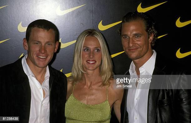 Lance Armstrong Wife Kristin Richard And Matthew McConaughey