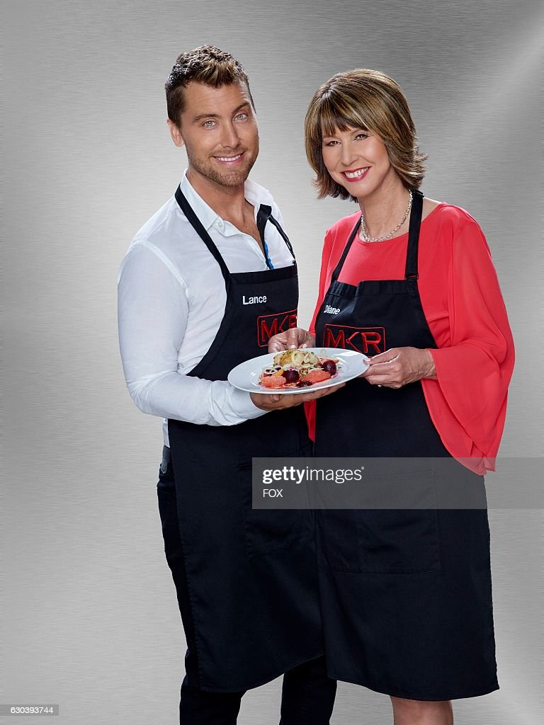 Lance Bass and Diane Bass. MY KITCHEN RULES premieres Thursday, Jan. 12 (9:01-10:00 PM ET/PT), on FOX.