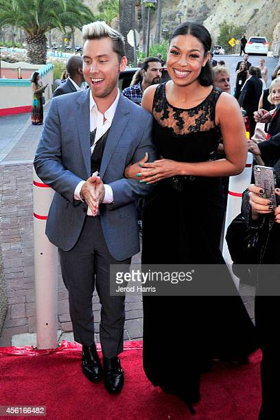 Lance Bass and Jordin Sparks attend the premiere of 'Left Behind' at the 2014 Catalina Film Festival on September 26 2014 in Catalina Island...